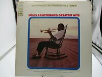 Louis Armstrong – Greatest Hits LP 1967  Columbia (CS 9438) VG+ c VG++