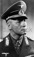 "Field Marshal Erwin Rommel Desert Fox World War 2 Germany, Reprint Photo 6x4"""