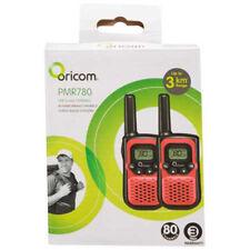 Oricom Walkie Twin PMR780 UHF2-Way Radio/Range up to 3km/80 Channels
