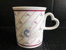 1986 Precious Moments Samuel J. Butcher Love Covers All Coffee Mug