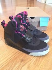 2009 Air Yeezy 1 Blink Black Pink Kanye West Size 11
