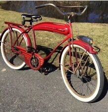1941 Westfield Made Motobike Columbia Viking SPECIAL DELUXE Red Original Paint