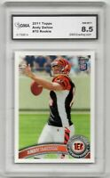 2011 Topps #70 Andy Dalton Rookie Bengals Graded PSA GMA 8.5 NM-MINT GRADING