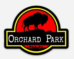 Buffalo Bills Orchard Park Premium MAGNET - NFL NY Bills Mafia Jurassic Park