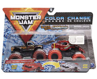 NEW 2020 MONSTER JAM COLOR CHANGE CAPTAIN'S CURSE & CRUSHSTATION 1:64