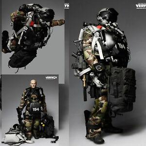 Veryhot 1/6 Scale Action Figure U.S. Navy Seal Halo UDT Jumper Camo Dry Uniform