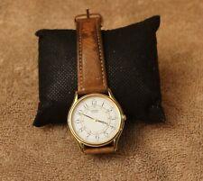Men's SEIKO Watch 5Y31-8A29 Wristwatch  Leather Strap Works!