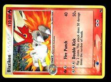 PROMO POKEMON POP Serie 1 N°  1/17 BLAZIKEN HOLO 110 PV