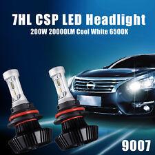 PHILIPS LED CSP 200W 20000LM 9007 HB5 Headlight Kit High Low Beam Bulbs 6500K US