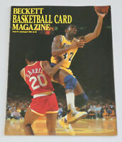 BECKETT BASKETBALL CARD MAGAZINE July 1990 Issue #3 MAGIC JOHNSON Cover Lakers