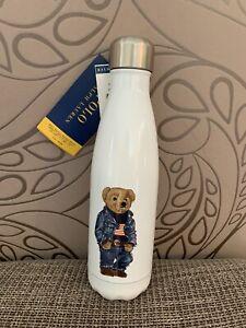 Ralph Lauren Polo Bear  Edelstahl Isolier Flasche Thermo Trinkflasche 500ml 0,5L