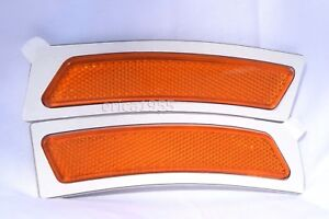Front Bumper Side Marker Reflector Light Lamps One Pair For 2014-2016 428i 435i