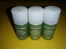 Lot Of Three Nature Republic (K-Beauty brand) Snail Solution Emulsion - 0.20 Oz.