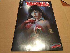 Vampirella #2, Dynamite 2019 NYCC, Shannon Maer, Near Mint