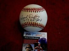 FRANK DUFFY (78-79 Red Sox) Signed American League Baseball -JSA Authenticated