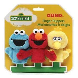 * NEW * Gund Sesame Street Plush Finger Puppets (Kayleigh & Co.)