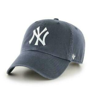 NY YANKEES 47 BRAND ADULT VINTAGE CLEAN UP/DAD HAT NEW & OFFICIALLY LICENSED