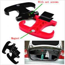 2Pcs High Quality Car Cargo Trunk Bag Hook Holder Hanger Organizer Plastic Black