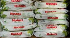 Huggies Natural Care Sensitive Baby Wipes Unscented 12 Flip-Top Packs - 384 Ct