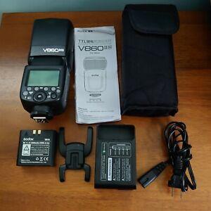 Godox V860II i-TTL 2.4G Li-ion LED Camera Flash Speedlite for Nikon Cameras N