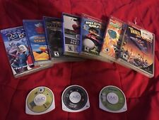 Psp Games Umd Movies Bundle (11 total games/movies) Great Condition