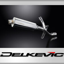 DUCATI MULTISTRADA 1200 2016-2018 DECAT 350mm OVAL STAINLESS BSAU EXHAUST KIT