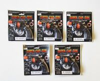 5 NEW SUPER CAP GUNS TOY PISTOL HANDGUN FIRES 8 SHOT RING CAPS KIDS REVOLVER