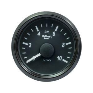 VDO SingleViu 0248 Motor Öldruck 10BAR 4.5V 52mm - 2 1/16' Schwarz
