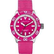 Cinturino Originale Gomma Nautica A09607G rosa con Fibbia