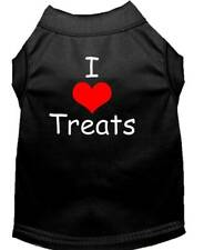 Mirage Pet Products - I Love Treats Dog Shirt Sizes XS-3X