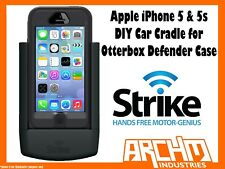 STRIKE ALPHA APPLE IPHONE 5 & 5s CAR CRADLE FOR OTTERBOX DEFENDER CASE DIY