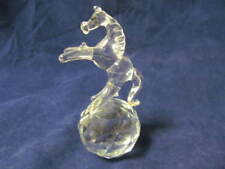 Beautiful Crystal Glass Horse Ornament