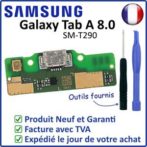 "CIRCUIT CONNECTEUR DE CHARGE DOCK USB MICRO DU SAMSUNG GALAXY TAB A 8.0"" SM-T290"