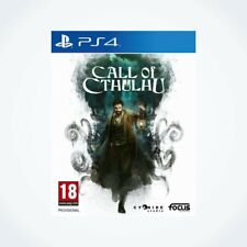 Call Of Cthulhu sur PS4 / Neuf / Sous Blister / Version FR