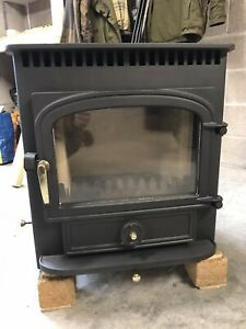 clearview Vision 500 inset Stove WOODBURNER 5kw