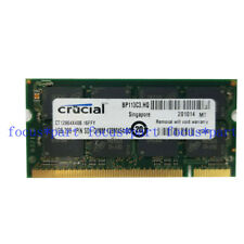NEW crucial 1GB DDR 400 MHz Notebook PC3200 Laptop SO DIMM Memory RAM 200pin