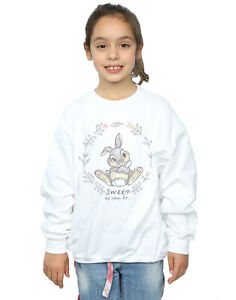 Disney Girls Bambi Thumper Sweet As Can Be Sweatshirt