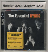 The Essential Byrds - Rare OOP 2CD Set - Brand New MINT & Sealed w/ Hype Sticker