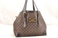 Auth Louis Vuitton Damier Hampstead MM Shoulder Tote Bag M51204 LV 61708