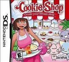 Nintendo DS : Cookie Shop Create Your Dream Shop VideoGames COMPLETE