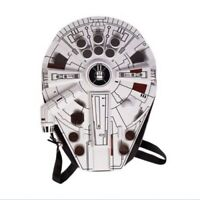 Han solo's Chewbacca's chewie Star Wars Millenium Falcon 3D Shield Back Pack