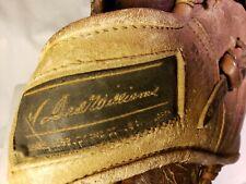 VINTAGE SEARS BASEBALL GLOVE, TED WILLIAMS MODEL #1338, Autograph Model