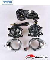 Full Set Fog Light Spot Driving Lamp KIT For Ford Fiesta WT 2010~2013 Zetec