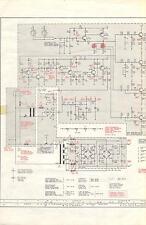 Grundig Service Schaltplan für Aktiv-Box 40-50 4-Weg-Verstärker                .