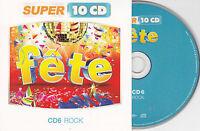 CD CARTONNE CARDSLEEVE FETE ROCK  15T PRESLEY/GENE VINCENT/SHADOWS/COCHRAN/HOLLY