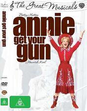 Annie Get Your Gun (DVD, 2009)  Brand new, Genuine & Sealed  - Free Postage D63