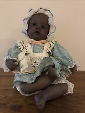 1991 Yolanda's Picture Perfect Babies Black Danielle Doll. 9� High