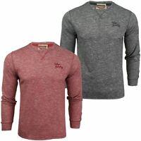 Mens Top shirt  by Tokyo Laundry 'Dawsons Ridge' Long Sleeved