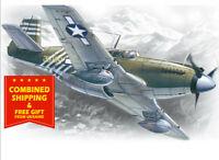 ICM 48161 - 1/48 Mustang P-51A, American Airplane, plastic model kit