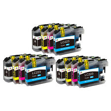 12 Ink Cartridge for Brother LC223 DCP-J4120DW MFC-J4420DW MFC-J5625DW J5720DW